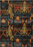 Oriental Weavers Sedona 4378H Charcoal/Blue Area Rug main image