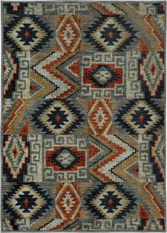 Oriental Weavers Sedona 5937D Blue/Multi Area Rug main image
