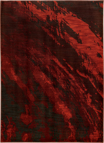 Oriental Weavers Sedona 6367B Red/Charcoal Area Rug main image