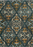 Oriental Weavers Sedona 6368B Blue/Gold Area Rug main image