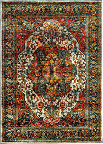 Oriental Weavers Sedona 6382B Red/Multi Area Rug main image