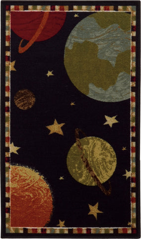 Oriental Weavers SERENDIPITY 45928 Black/ Multi Area Rug main image