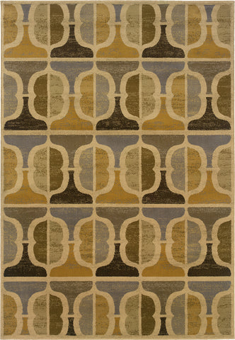 Oriental Weavers Stella 3188B Gold/Grey Area Rug main image