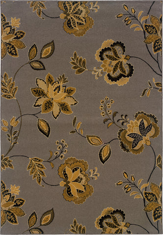 Oriental Weavers Stella 3214A Grey/Gold Area Rug main image