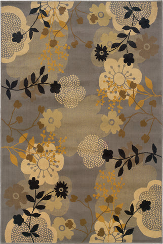 Oriental Weavers Stella 3261B Grey/Gold Area Rug main image
