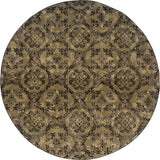 Oriental Weavers Stella 3336A Grey/Black Area Rug 7' 8 X 7' 8 Round
