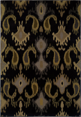 Oriental Weavers Stella 3530B Black/Grey Area Rug main image
