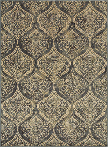 Oriental Weavers Stratton 4960C Blue/Ivory Area Rug main image