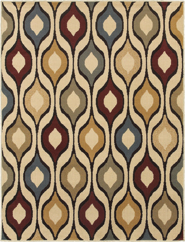 Oriental Weavers Stratton 5880A Ivory/Multi Area Rug main image