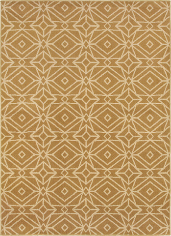 Oriental Weavers Stratton 5882A Gold/Ivory Area Rug main image