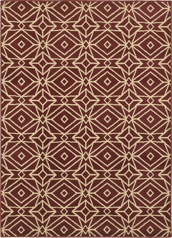 Oriental Weavers Stratton 5882B Red/Ivory Area Rug main image