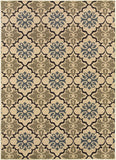 Oriental Weavers Stratton 6015A Blue/Green Area Rug main image