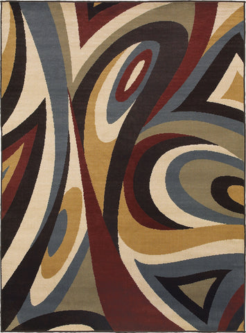 Oriental Weavers Stratton 6016B Brown/Multi Area Rug main image