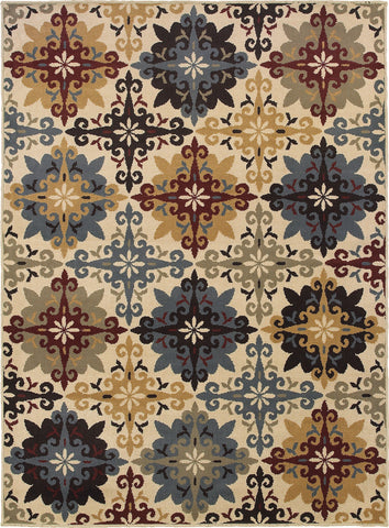 Oriental Weavers Stratton 6017A Ivory/Multi Area Rug main image