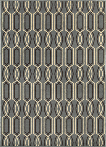 Oriental Weavers Stratton 6019A Blue/Ivory Area Rug main image