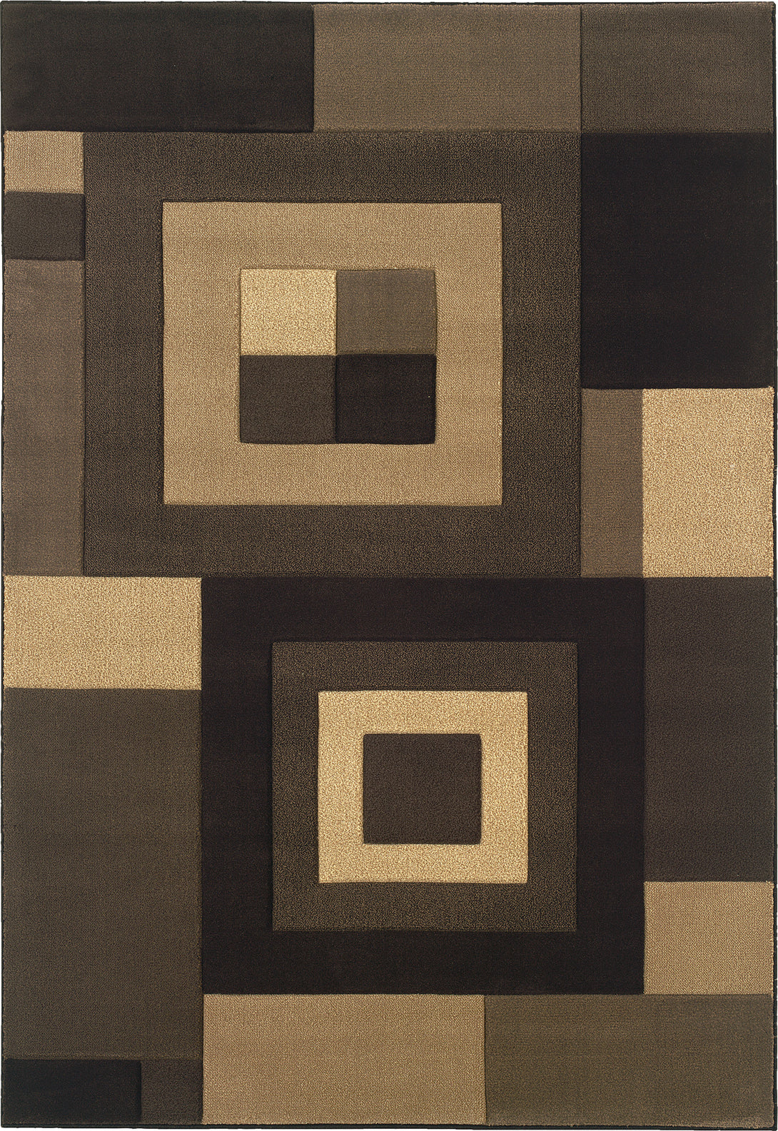 Oriental Weavers Tones 220D5 Brown/Beige Area Rug main image