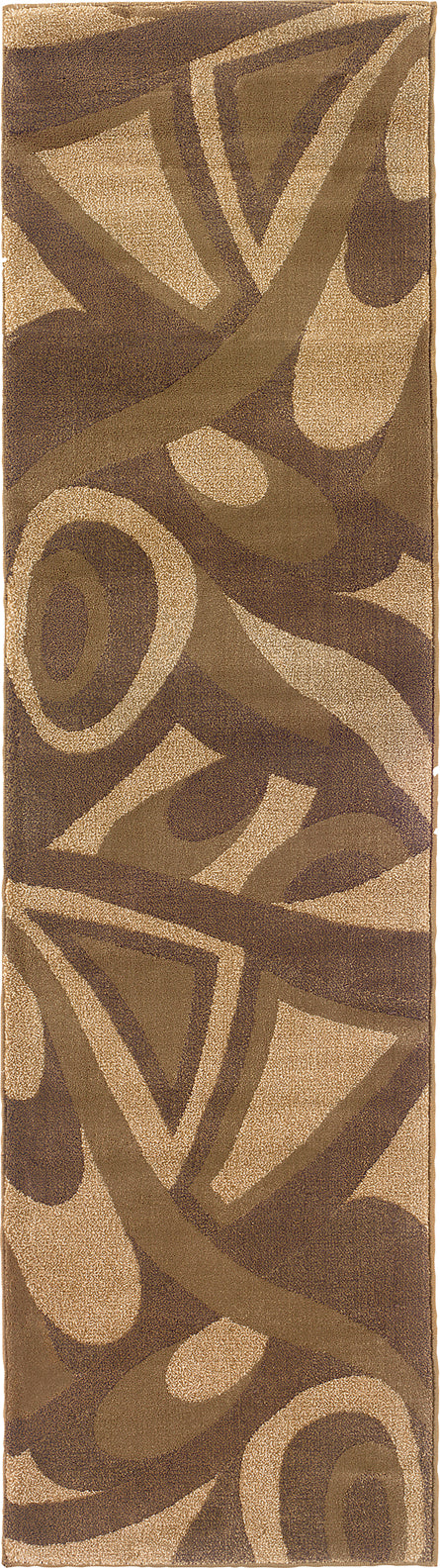 Oriental Weavers Tones 501X1 Brown/ Beige Area Rug main image