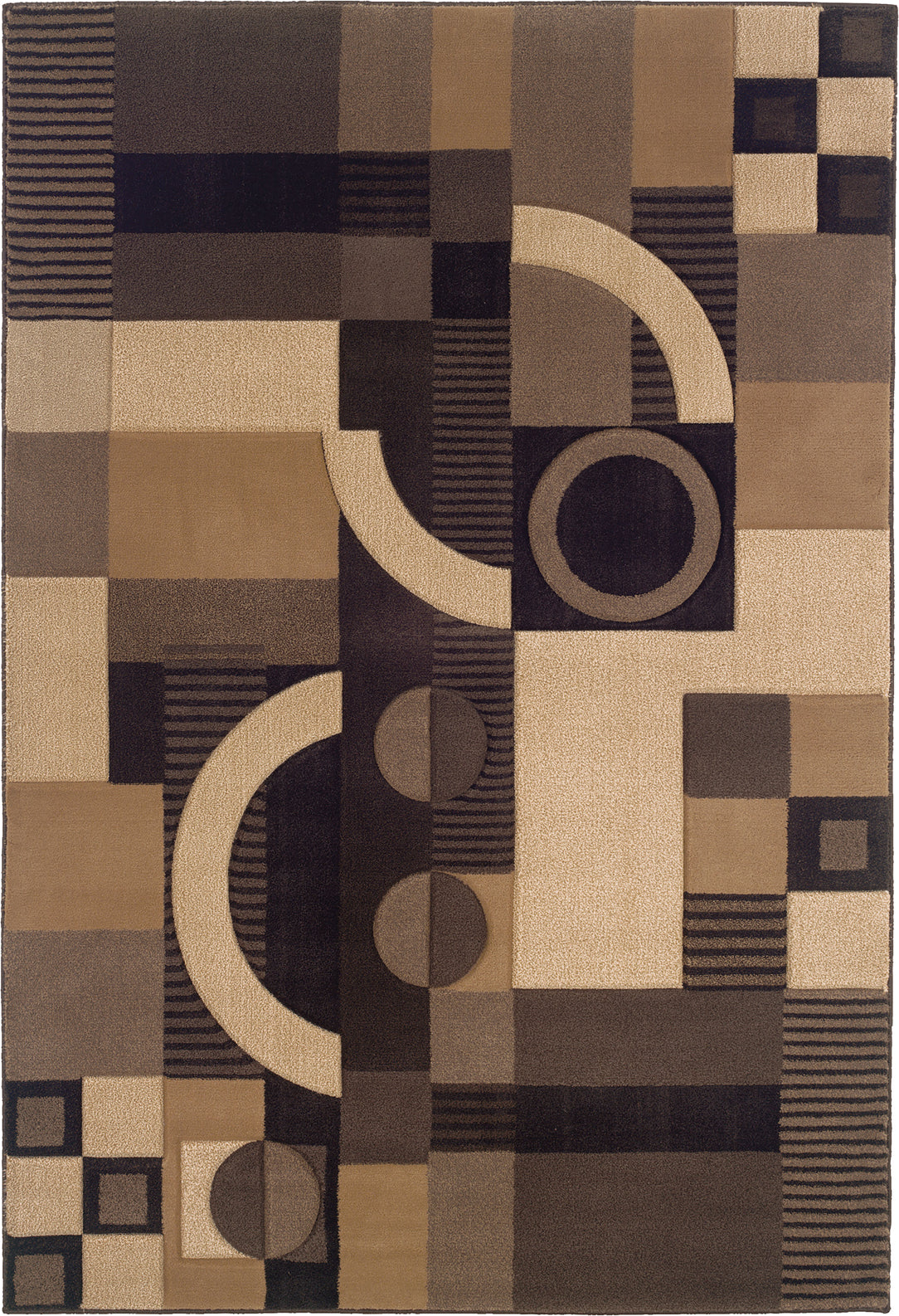 Oriental Weavers Tones 5444J Brown/Beige Area Rug main image