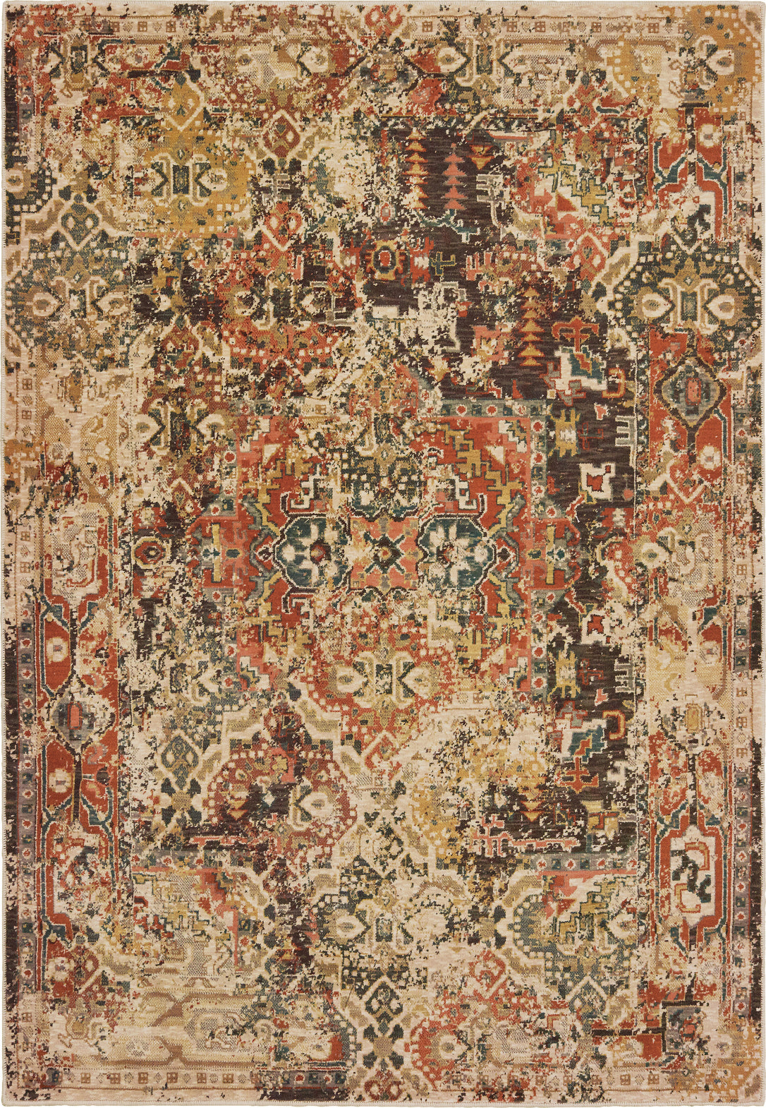Picture of: Oriental Weavers Toscana 9571a Orange Gold Area Rug Incredible Rugs And Decor