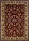 Oriental Weavers Tybee 733R6 Red/Beige Area Rug main image