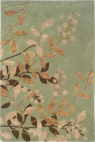 Oriental Weavers Utopia 84112 Green/Tan Area Rug main image