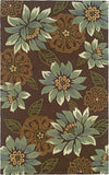 Oriental Weavers Utopia 84120 Brown/Blue Area Rug main image