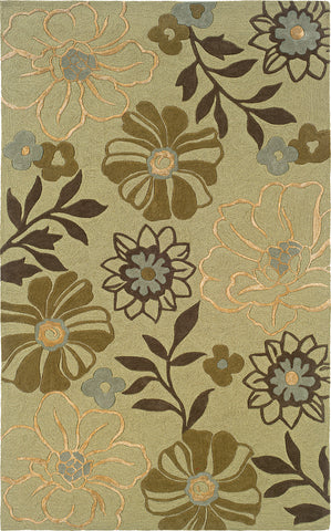 Oriental Weavers Utopia 84123 Green/Brown Area Rug main image