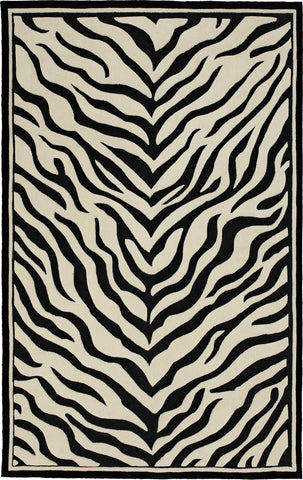 Oriental Weavers Utopia 84124 Black/Ivory Area Rug main image
