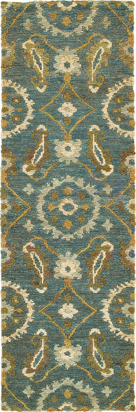 Tommy Bahama Valencia 57702 Blue Area Rug Incredible