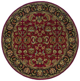 Oriental Weavers Windsor 23102 Red/Black Area Rug 7' 6 Round
