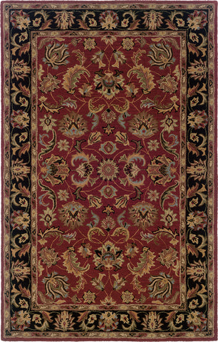 Oriental Weavers Windsor 23102 Red/Black Area Rug main image