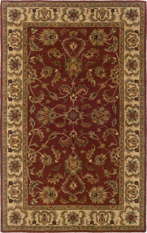 Oriental Weavers Windsor 23109 Red/Ivory Area Rug main image