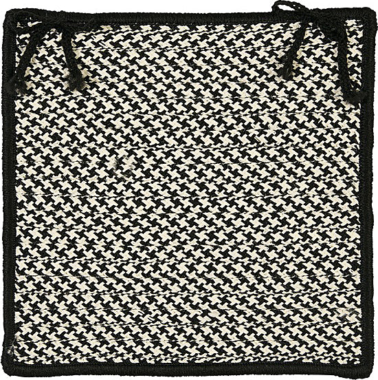 Colonial Mills Outdoor Houndstooth Tweed OT49 Black main image