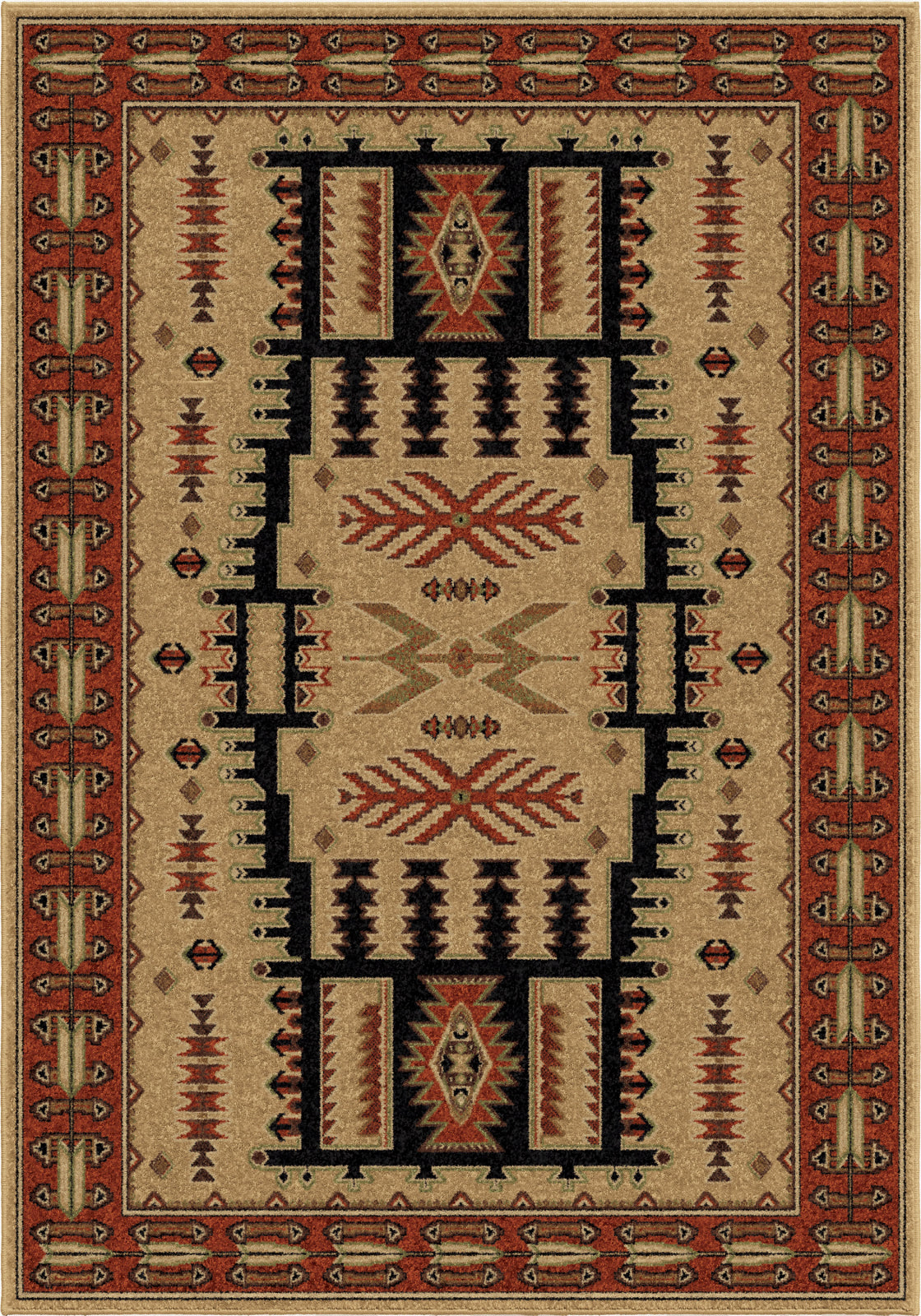 Orian Rugs Oxford North Fork Beige Area Rug main image