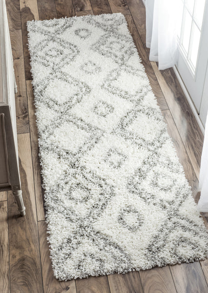 Nuloom Iola Easy Shag Ozsg18a White Area Rug Incredible