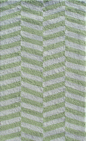 Rug Market America Pop Accents Ladder Green Green/White Area main image
