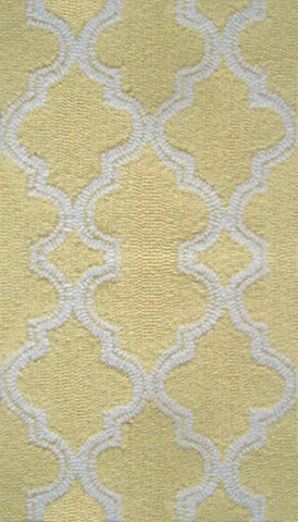Rug Market America Pop Accents Jafar Yellow Yellow/White Area main image