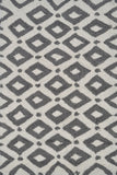 Rug Market America Pop Accents Charter Gray/White Area 5' 0'' X 7' 0''