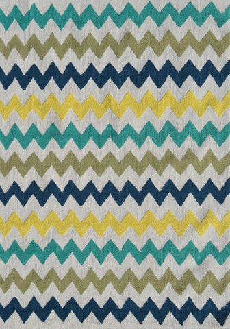 Rug Market America Pop Accents Chevron Multi Area main image