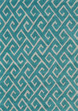 Rug Market America Pop Accents Greek Blue Blue/White Area 5' 0'' X 7' 0''