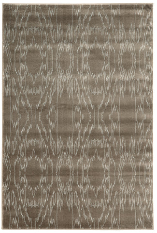 Linon Prisma Collection RUGPA04 Brown/White Area Rug main image