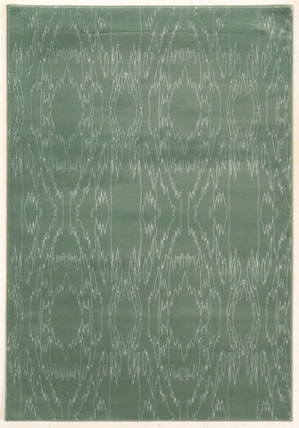 Linon Prisma Collection RUGPA07 Aqua/White Area Rug main image
