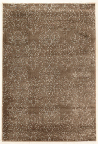 Linon Prisma Collection RUGPA20 Brown/White Area Rug main image