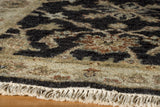 Momeni Palace PC-05 Charcoal Area Rug Closeup