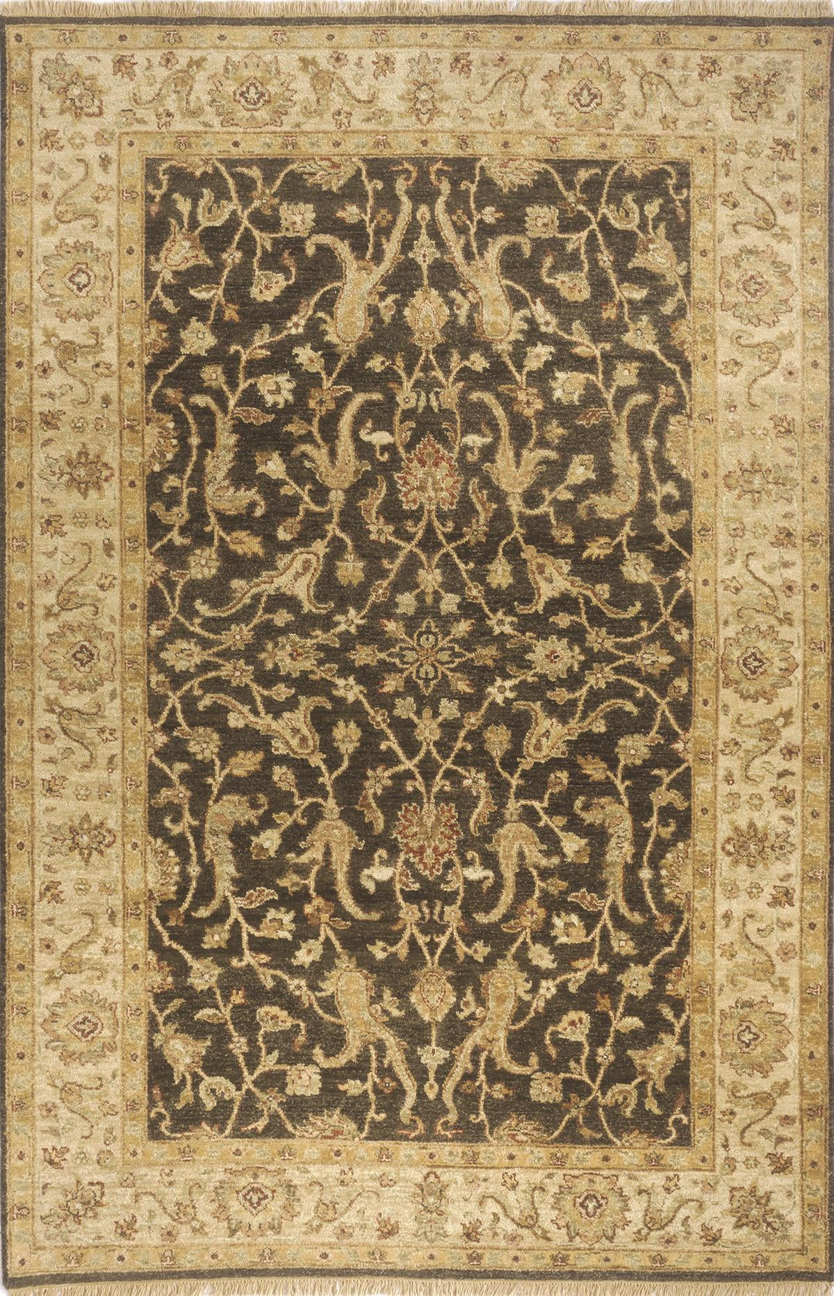 Momeni Palace PC-05 Charcoal Area Rug main image
