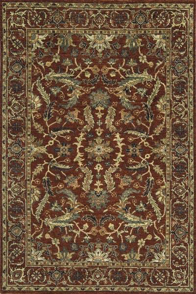 Momeni Palace PC-08 Red Area Rug main image
