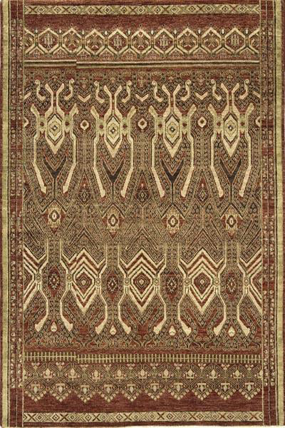 Momeni Palace PC-11 Red Area Rug main image
