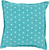 Surya Polka Dot Perfect PD-001 Pillow 22 X 22 X 5 Poly filled