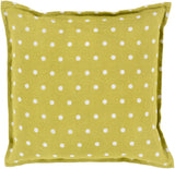 Surya Polka Dot Perfect PD-002 Pillow 22 X 22 X 5 Poly filled