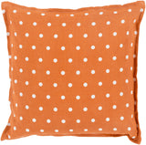 Surya Polka Dot Perfect PD-005 Pillow 22 X 22 X 5 Poly filled